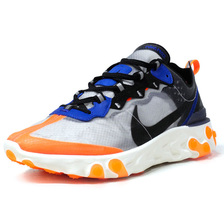 "NIKE REACT ELEMENT 87 ""LIMITED EDITION for NONFUTURE"" GRY/BLK/ORG/BLU AQ1090-004画像"