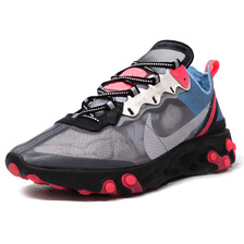 "NIKE REACT ELEMENT 87 ""LIMITED EDITION for NONFUTURE"" GRY/BLK/BLU/RED AQ1090-006画像"