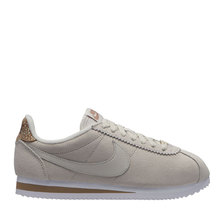 NIKE WMNS CLASSIC CORTEZ PREM LIGHT BONE/LIGHT BONE-CANTEEN-WHITE AR5696-003画像