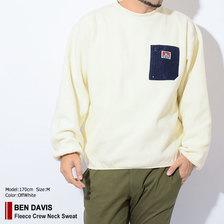 BEN DAVIS Fleece Crew Neck Sweat M-8780032画像