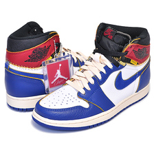 NIKE AIR JORDAN 1 RETRO HI NRG / UNION white/storm blue-varsity red BV1300-146画像