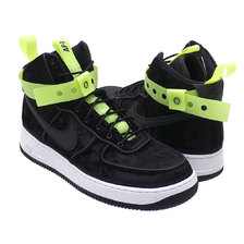NIKE × MAGIC STICK AIR FORCE 1 HIGH 07 QS BLACK 573967-003画像