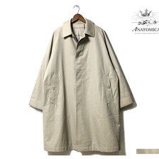ANATOMICA SINGLE RAGLAN COAT BEIGE 530-521-25画像