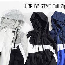 NIKE HBR BB STMT Full Zip Hoodie BQ6459-010画像