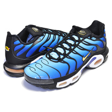 NIKE AIR MAX PLUS OG black/chamois-sky blue BQ4629-003画像