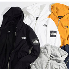 THE NORTH FACE Square Logo Full Zip Hoodie NT11952画像