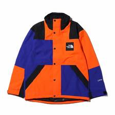 THE NORTH FACE RAGE GTX SHELL JKT AZTEC BLUE × PERSIAN ORANGE NP11961-AP画像