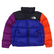 THE NORTH FACE RAGE 1996 NUPTSE JACKET AZTEC BLUE RAGE COMBO画像