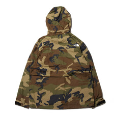 THE NORTH FACE NV DOT SHOT JKT WOODLAND CAMO NP61535-WD画像