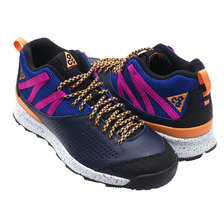 NIKE OKWAHN II ACG OBSIDIAN/FUEL ORANGE 525367-400画像