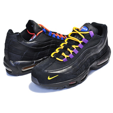 "NIKE AIR MAX 95 PREMIUM black/rush blue ""LA vs NYC"" NBA KNICKS LAKERS AT8505-001画像"