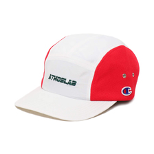 CHAMPION × ATMOS LAB NYLON MESH CAP WHITE 181-4028画像