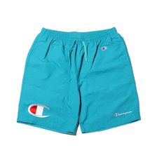 CHAMPION x ATMOS LAB LAB SHORT PANT アクア C8-P519-460画像
