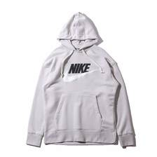 NIKE AS M NSW HERITAGE HOODIE PO HB LIGHT BONE AV8411-072画像