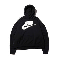 NIKE AS M NSW NSP HOODIE FT BLACK/WHITE AR4855-010画像