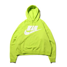 NIKE AS M NSW NSP HOODIE FT CYBER/WHITE AR4855-389画像