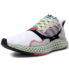 "adidas ZX4000 4D ""LIMITED EDITION for CONSORTIUM"" WHT/NAT/BLK/GRY/PNK/M.GRN B42203画像"