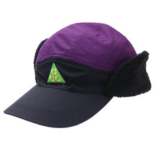 NIKE TAILWIND ACG SHELPA CAP BLACK/PURPLE AR0497-011画像