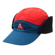 NIKE TAILWIND ACG SHELPA CAP TEAL/HABANERO RED AR0497-381画像