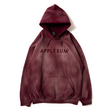 APPLEBUM Bleach Sweat Parka MAROON画像