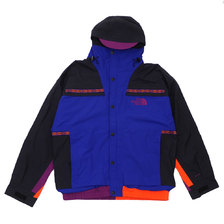 THE NORTH FACE 1992 RETRO RAGE RAIN JACKET AZTEC BLUE RAGE COMBO画像