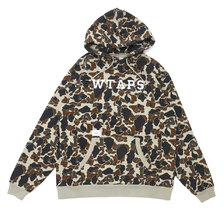 WTAPS DESIGN HOODED COLLEGE/SWEATSHIRT OD 182ATDT-CSM04S画像