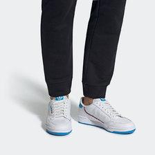 adidas Originals CONTINENTAL 80 FTWR WHITE/SHOCK CYAN/FTWR WHITE EF2942画像