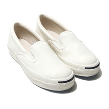 CONVERSE JACK PURCELL RET SLIP-ON WHITE 32263650画像