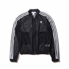 adidas TRACK TOP BLACK DX3694画像