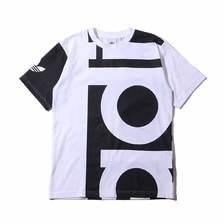 adidas Originals BIG ADI TEE BLACK/WHITE DY6653画像