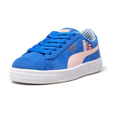 "PUMA SESAME STR 50 SUEDE PS ""COOKIE MONSTER/SESAME STREET"" ""LIMITED EDITION for PRIME"" BLU/WHT 368924-01画像"