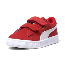 "PUMA SUEDE 2 STRAPS PS ""LIMITED EDITION for PRIME"" RED/WHT 359595-03画像"
