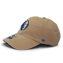 '47 Brand DALLAS MAVERICKS CLEAN UP STRAPBACK KHAKI K-INVERT05GWSNL-KH画像