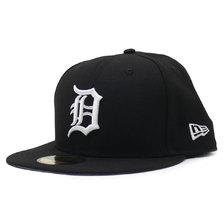 NEW ERA DETROIT TIGERS MLB TEAM-BASIC BLACK-WHITE NR11591157画像