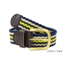 STUSSY Braided Corded Belt 135156画像