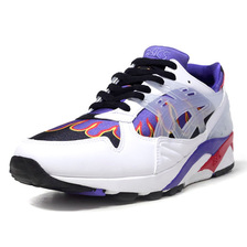 """ASICS GEL-KAYANO TRAINER """"ANARCHY IN THE EDO PERIOD"""" """"sneakerwolf"""" WHT/BLK/PPL/RED/YEL 1193A164-100画像"""