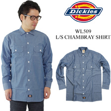 Dickies WL509 L/S CHAMBRAY SHIRT画像