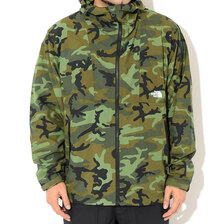 THE NORTH FACE NV COMPACT JKT WOODLANDCAMO NP71535-WL画像
