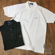 FRED PERRY SOLOTEX LINEN POLO SHIRT F1749画像