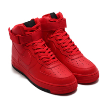 NIKE AIR FORCE 1 HIGH '07 1 UNIV RED/UNIV RED-BLACK AO2440-600画像