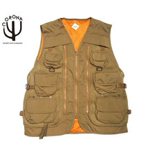 CORONA CV001-19-02 IAS(IN ALL SITUATION) UTILITY VEST coyote brown画像