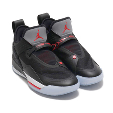 NIKE AIR JORDAN XXXIII SE PF BLACK/FIRE RED-PRTCL GREY-SL CD9561-006画像