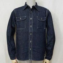 SAMURAI JEANS SDS19-01 デニムワークシャツ画像