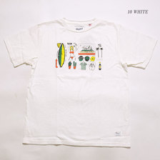 """BARNS × TAKEDA MASASHI Made in U.S.A. S/S T-SHIRT """"AMERICAN JOURNEY"""" BR-7941画像"""