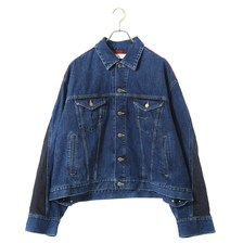 FACETASM CHECK DENIM JACKET PIPPA-JK-M05画像