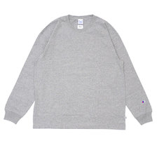 RHC Ron Herman × Champion Long Sleeve Tee GRAY画像