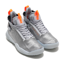NIKE JORDAN PROTO-REACT WOLF GREY/PURE PLATINUM-TOTAL ORANGE BV1654-008画像