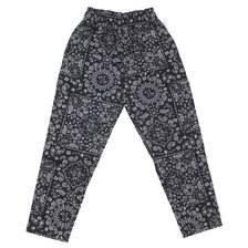 COOKMAN Chef Pants PAISLEY BLACK画像