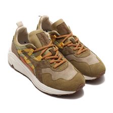 DIADORA RAVE SUEDE LEATHER GREEN MOSS 175447-0414画像