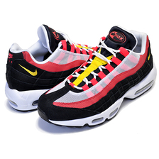 NIKE AIR MAX 95 ESSENTIAL white/chrome yellow-black AT9865-101画像